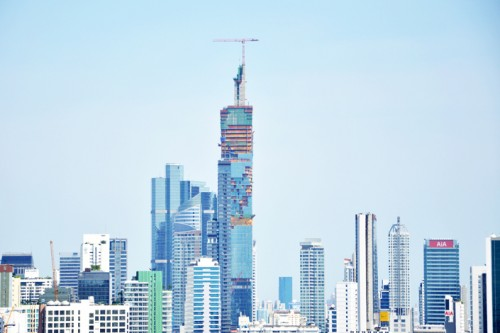 MahaNakhon<span style='text-transform: none; display: block; '>High-rise</span>